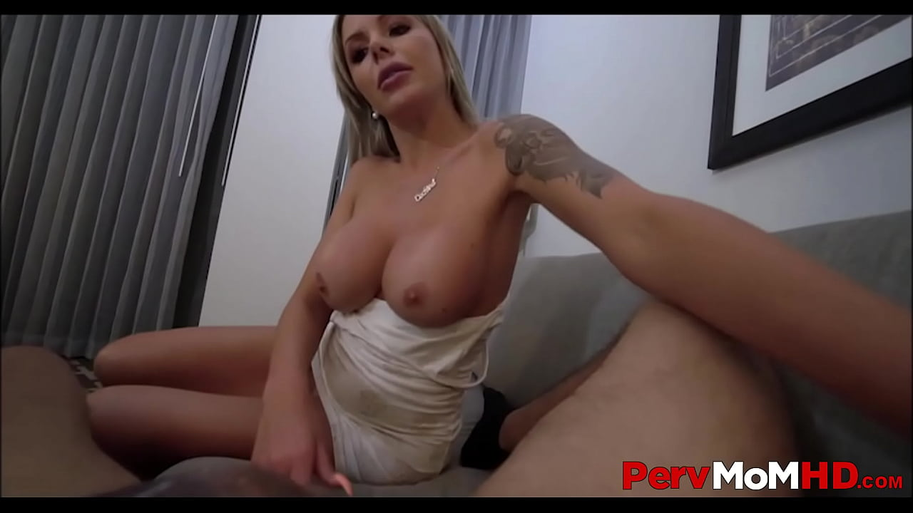 Blonde Natural Tits Mom Pov