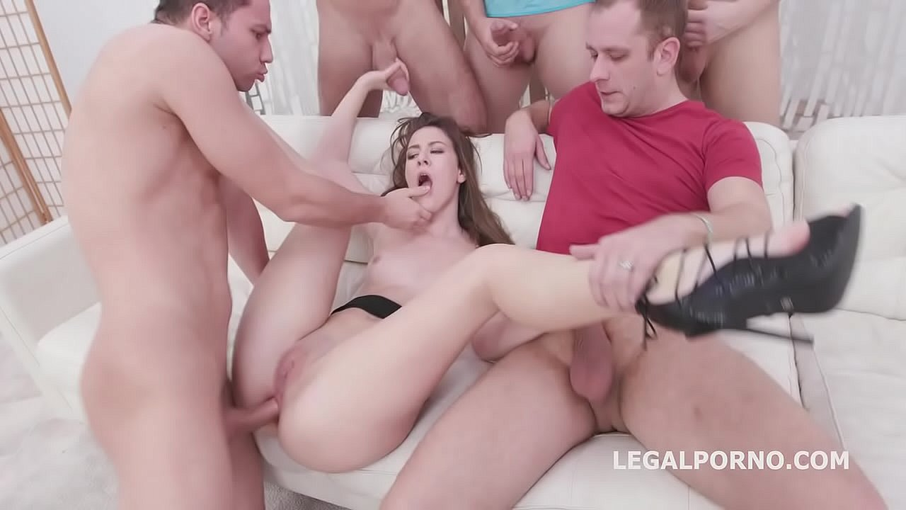 7on1 DAP Gangbang with Alessandra Amore Balls Deep Anal, DAP, Gapes and Swallow GIO1336 69 sec 720p
