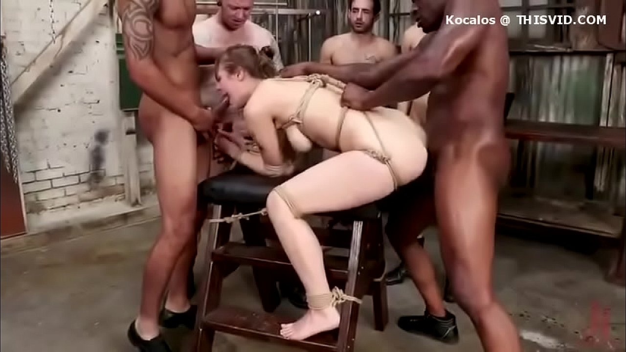 Hot girls gsngbanged Hot Girl Bound Fucked Gangbang Xvideos Com