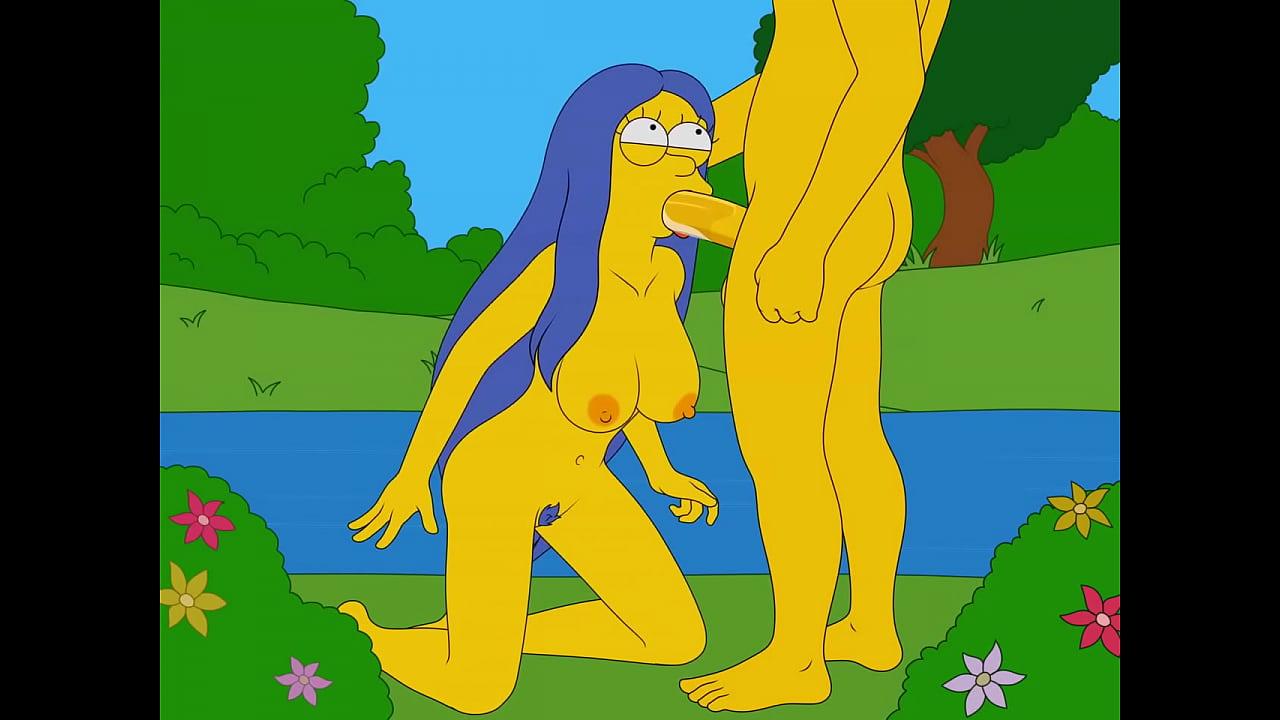 Marge suck off stranger (Sfan)