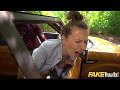Fake Driving School Female Instructor demands t...