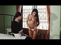 VivThomas - Housemaid Paula Shy and her lesbian...