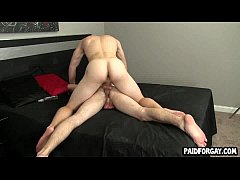Straight amateur hunk getting fucked anally for...