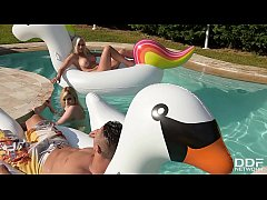 Katy Jayne & Vittoria Dolce's intense Poolside ...