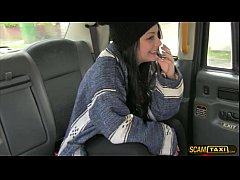Damn sexy girl Alessa gets a free ride and rewa...