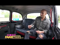 Female Fake Taxi Big black cock creampies blond...