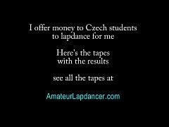 Amateur czech beauty in hot POV lapdance