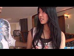 Serious porn session with brunette Eririka Kata...