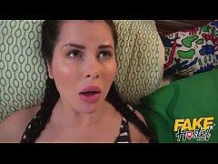 Fake Hostel - Selfie crazed cute teen girl in p...