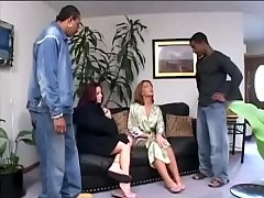 Francescas Sins and friend get down with two BBCs