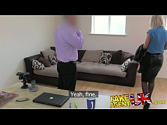 FakeAgentUK Hot British chick doubts agent in h...