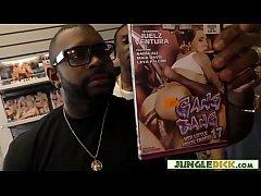 Slutty Lexi Lowe Gangbanged In Adult Video Store