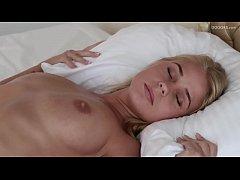 Real blonde big tits Darina Nikitina orgasmic m...