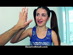 ExxxtraSmall - Pigtailed Teen (Sally Squirt) Ge...