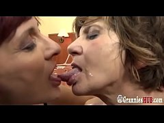 Two Bisexual Grannies Love Big Black Cocks Anally