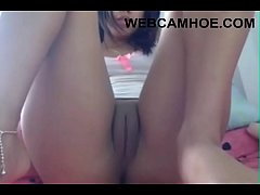 Tight Latina Squirt on Webcamhoe.com