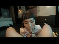 International student loves to moan when gettin...