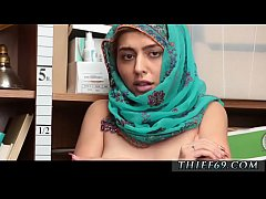 Fake taxi threesome with cop first time Hijab-W...