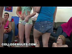 COLLEGE RULES - Horny Teen College Students Pla...