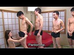 Subtitled Japanese AV star Mona Takei blowjob l...