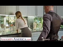Naughty America Real Estate agent Bunny Colby d...