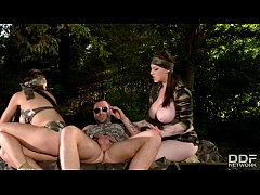 Busty Commando Team - Rescue Babes get Ass Fucked