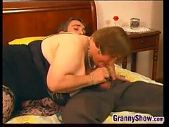 Big And Busty Granny Sucking And Fucking