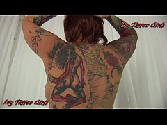 BlackwidowXXX Full Body tattoos view PRomo