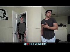 BrotherCrush - Twink Younger Step Brother Gets ...