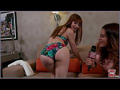 GIRLS GONE WILD - Sexy Young Redhead Alexa Nova...