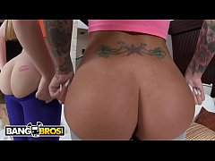 BANGBROS - Christy Mack and Aurielee Summers Fuck Brick Danger