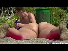 Big ass nudist milfs beach voyeur