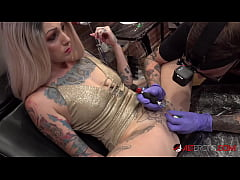 Extreme Inked up Hottie Sully Savage has her Cl...