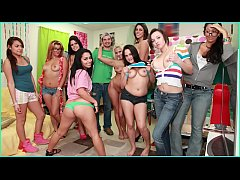 BANGBROS - Diamond Kitty, Lylith Lavey, and Anastasia Morna on Dorm Invasion!
