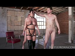 Jules Jordan - Angela White Gets Dp'd In A Deso...