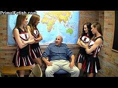 Hot Horny Girls Pantyhose Domination