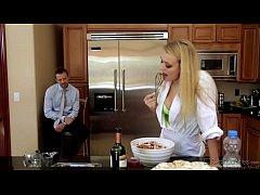 Natalia Starr Rough Fucked In Kitchen