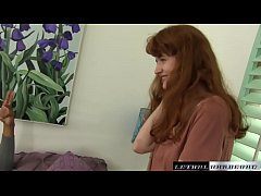 thumb natural redhead  abby sees her first bbc first first bbc first bbc