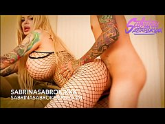 Sabrina Sabrok big tits blonde with huge booty ...