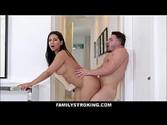 Big Tits Big Ass Latina MILF Step Mom Rose Monr...