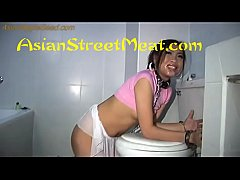 Chained Up Toilet Slave
