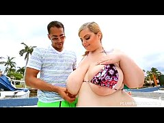 Big Titty White BBW Sashaa Juggs Fucked in Hot ...