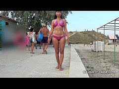 Painted bikini