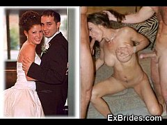Real Brides Sucking!