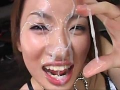 Cum on asian girls (Cumshot Compilation)