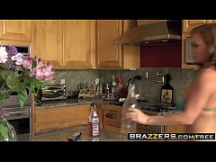 Brazzers - Mommy Got Boobs - Two Milfs One Cock...