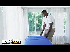 thumb  julie kay dick ed down during massage during  massage during massage