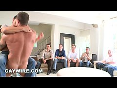 GAYWIRE - Sausage Party Orgy Time with Big Dick...