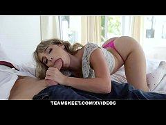 Teen Pornstar Anna Mae Gets Creampie