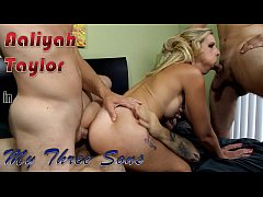 Aaliyah Taylor in mother fucks her three sons
